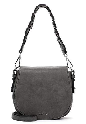 SURI FREY Umhängetasche Luzy 12641 Damen Handtaschen Uni grey 800 One Size