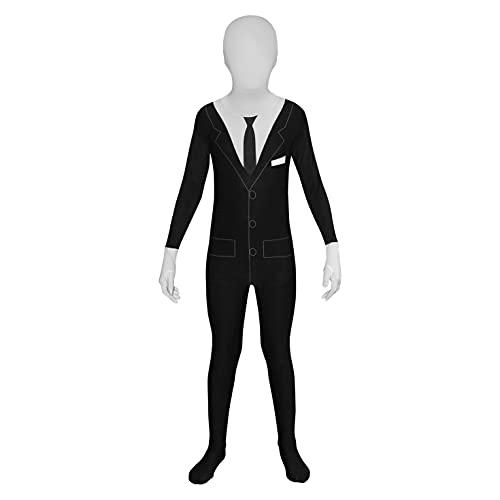 Morphsuits Slender Man Kids Morphsuit Costume - size Large 4'6-5'...