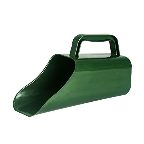 SQER Gartenplastikschaufel, Goldrauschwerkzeug Plastikeimer, Multifunktionslöffel Topfpflanze Verschleißfestes Grabwerkzeug
