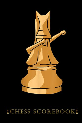 Dabbing Chess Knight Dab Dance Checkmate Pun Chess Scorebook: Chess Notation Pad, 50 Games Score Moves to Track and Record a Chess Game, Notation ... Log Scores, Matches, Tournaments and Results