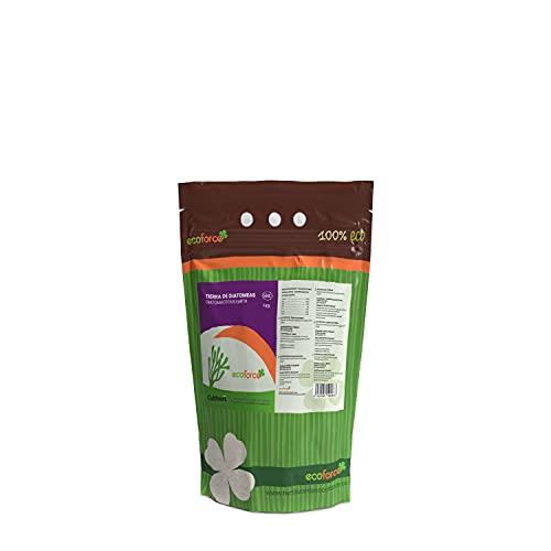 CULTIVERS Tierra de Diatomeas 1 kg Micronizada. 100% Natural y Ecológico. No calcinada de Alta pureza, sin tratamientos ni residuos. Destindado a Uso AGRARIO