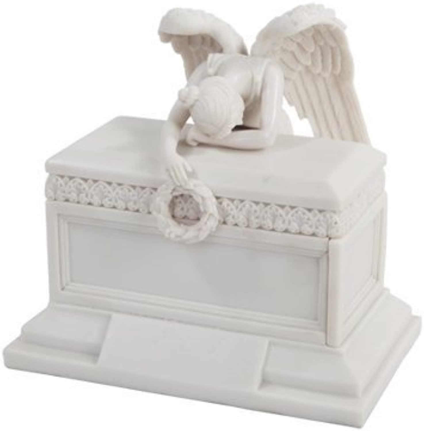6 Inch Angel of Bereavement Keepsake Urn Religious Statue Figurine