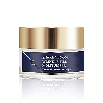Eclat Skin LONDON Wrinkle Fill Snake Venom Moisturiser (50ml) Anti-Wrinkles Moisturiser Cream For Soft and Smoother Skin from Eclat Skin London