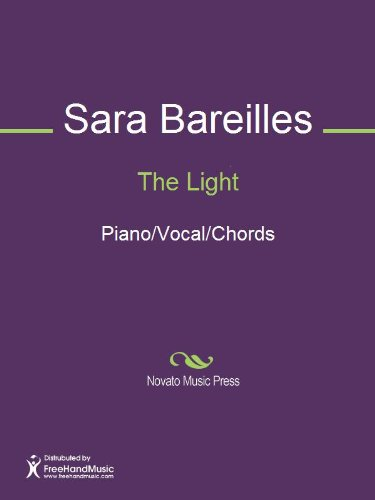 The Light Sheet Music (Piano/Vocal/Chords) (English Edition)