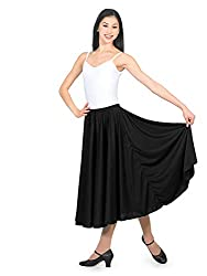 Natalie Adult Elastic Waist Character Skirt in Multiple Lengths N8108