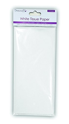 Dovecraft Hojas A4 Essentials para Manualidades, Papel, Blanco, 30 x 15 x 2 cm