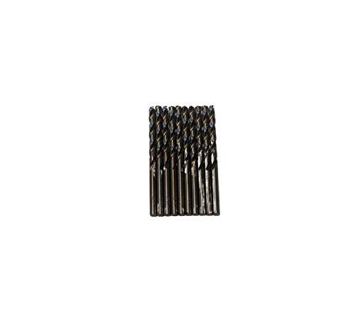 Broca para metal HSS DIN338 M-35 cobalto de 4,5mm (paquete de 10 unidades)