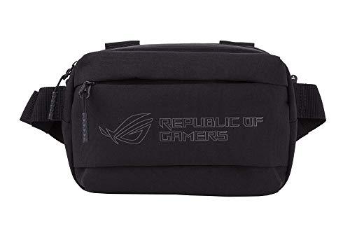 ROG Ranger BC1001 Hüfttasche mit wasserabweisender Außenseite, wasserdichtem Reißverschluss, reflektierendem Logo und DREI Fächern für einfache Organisation