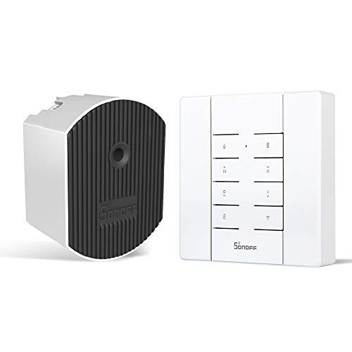 Dimmer WiFi Swtich SONOFF D1 with RM433 controller für dimmbare LED und Glühbirnen, unterstützt 433MHz RF Steuerung, APP Steuerung, kompatibel mit Alexa, einpoliger Nullleiter erforderlich