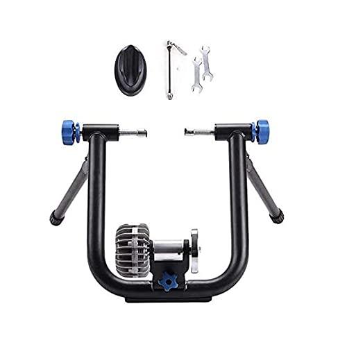 XIAOHUA-UK Bike Trainer Fluido Bike Trainer Stand-Bicycle Turbo Trainer-Turns Ciclo in Fitness/velocità/Esercizio Bike Bici, Fit 26-29'/ 700C Mountain & Road Bicycle