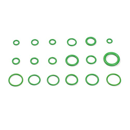 Dreamined - O Ring Nitrile Rubber - NBR Assortment Kit, 18 Sizes, 270 PCS for Automobile, Mechanical Parts, Construction, Electrical Appliance, Industrial, Household and Other Fields