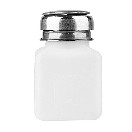 Beuty7-100ml Dispenser Pumpflasche Flüssigkeitsspender mit Metalldeckel (leer) Dosierer Spender...