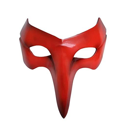 Mscara Persona 5 P5 Cos, Mscara Persona Joycos ladrn de Resina, de Halloween Cosplay Complementos Disfraz ZHW345