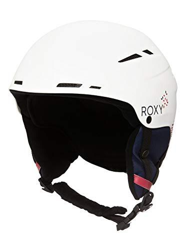 Roxy Damen Alley OOP Ski & Snowboardhelme, Bright White, 56