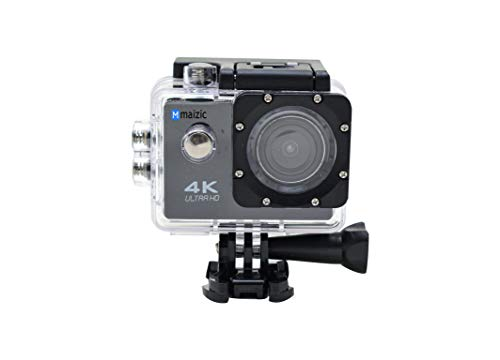 Maizic Smarthomes Action Camera Ultra HD 4K 1080P/60fps Waterproof 2.0 LCD 170D Lens Helmet