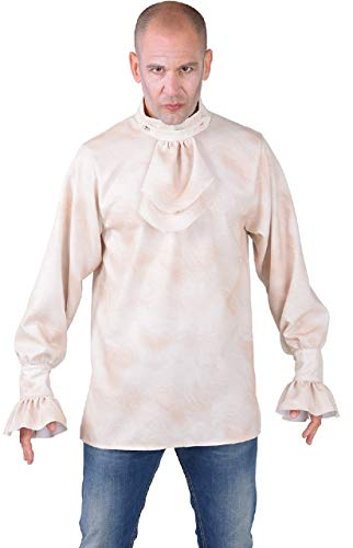 narrenkiste M218298-30-XXL - Camisa gtica medieval con chorro, talla XXL
