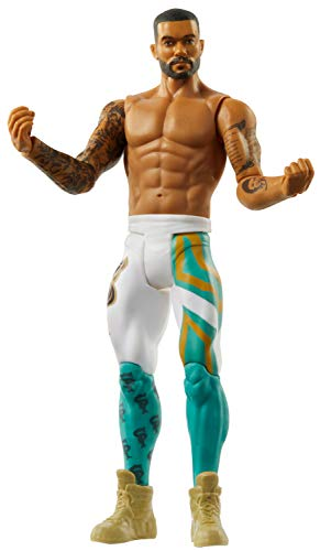 WWE Montez Ford Basic Series #108 Action Figure in 6-inch Scale with Articulation & Ring Gear