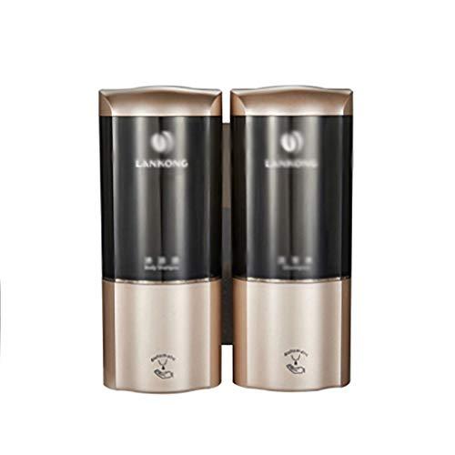 MKVRS Dispensador de jabón automático dispensador de jabón montado en la pared de cocina dispensador de jabón líquido Hotel School Shower IR Sensor Loción sin contacto Dispensador de loción y jabón