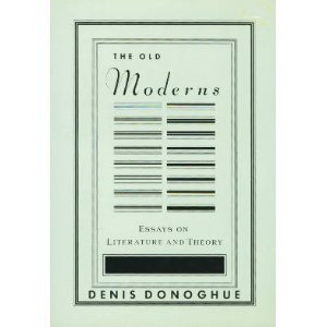 The Old Moderns 0394589343 Book Cover