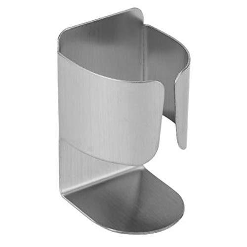 Unknow Tigkley Portaspazzolino in Metallo Accessori per Organizer portaoggetti da Bagno appiccicosi in Acciaio Inossidabile