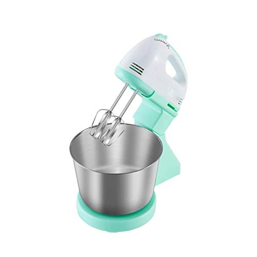 UNU_YAN Máquina de cocinar de batidor de Huevos de Simplicidad Moderna con Lavabo de Acero Inoxidable de 1,7 l, 100W, Mezclador de Escritorio de Mano Ajustable de 7 velocidades de 7 velocidades
