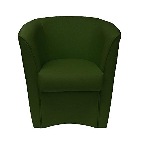 Poltrona Verde Smeraldo in Ecopelle per Cucina Sala da Pranzo Ufficio Camera cameretta