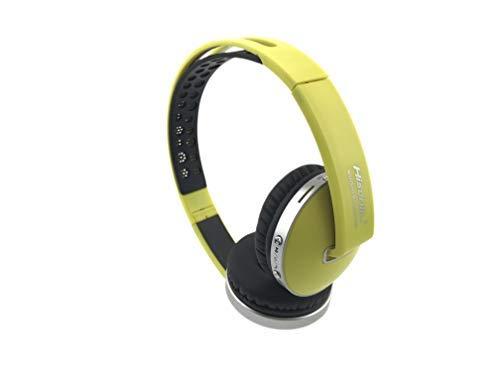 Auriculares Bluetooth Inalámbrico amarillos
