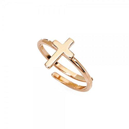 anello donna gioielli Amen Croce trendy cod. AFCR