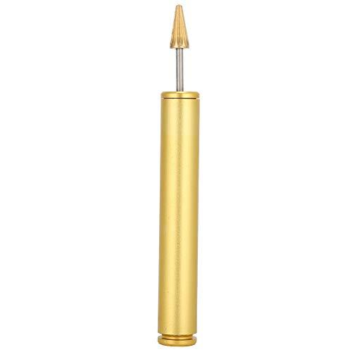 Bolígrafo de tinte para bordes de cuero, bolígrafo de aceite para bordes con mango de madera, aplicador de rodillo de bordes de colores, rodillo de tinte de borde superior, herramienta para manualidad