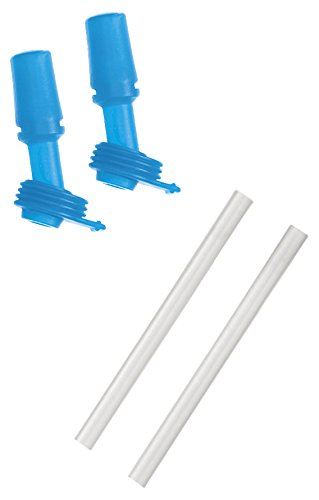 Camelbak eddy Kids Bottle Accessory 2 Bite Valves/2 Straws, Ice Blue