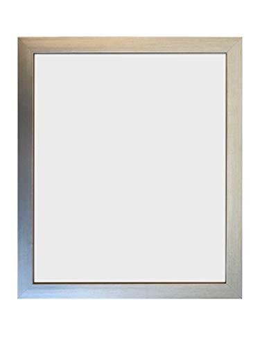 FRAMES BY POST Cornice portafoto in Vetro di plastica da 0,75 cm, Colore: Argento, 14 x 8 inch