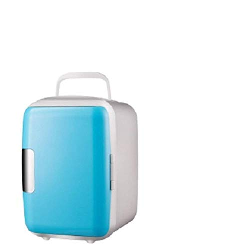 NLRHH Compact-refrigeradores, Mini Nevera Mini pequeña casa Mini refrigerador Estudiante Dormitorio hogar Doble Uso frío refrigerador refrigerador-l 23x16x15cm (9x6x6inch) Peng
