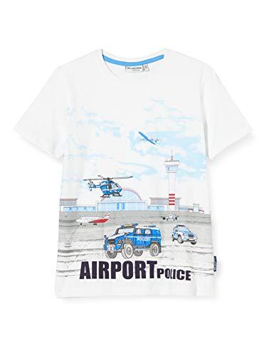 Salt & Pepper Jungen 03112153 T-Shirt, Weiß (White 010), (Herstellergröße: 92/98)