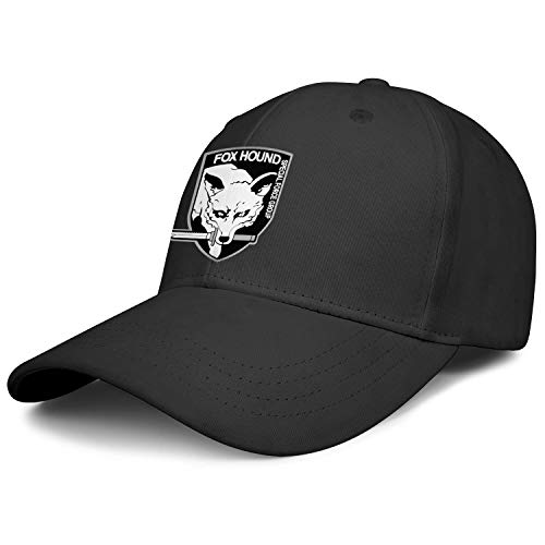 Unisex Baseball Hat,Cap,Hats,Caps} Cotton Trucker Hat for Mens' Womens' Foxhound-Metal-Gear-Solid- Sun Cap