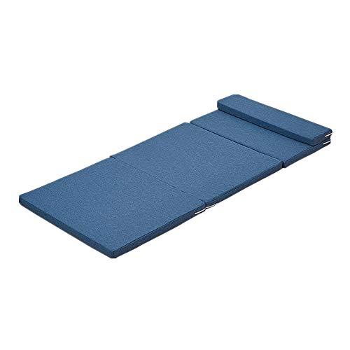 Gyubay Colchón Plegable Transpirable y Lavable colchón de 5 cm Asiento Z...