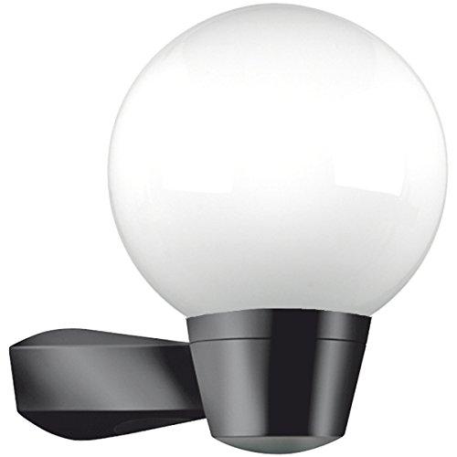 Aussenlampe Wandlampe Lampe ALS Schwarz Hochwertig Mit Mattiertem Glas