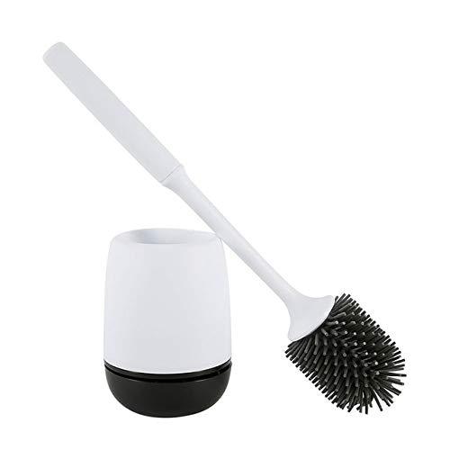 Mdsfe Toilettenbürstenhalter TPR Toilettenbürstenkopfhalter WC Wand- oder Bodenreinigung Badzubehör für die Haushaltsreinigung - Australien, a2