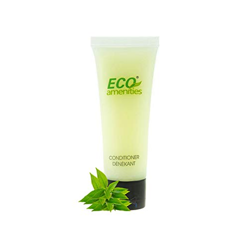 Price comparison product image ECO AMENITIES Travel size 1.1oz hotel conditioner in bulk,  Clear,  200Count,  Clear,  Green Tea,  200.0 Fl Oz
