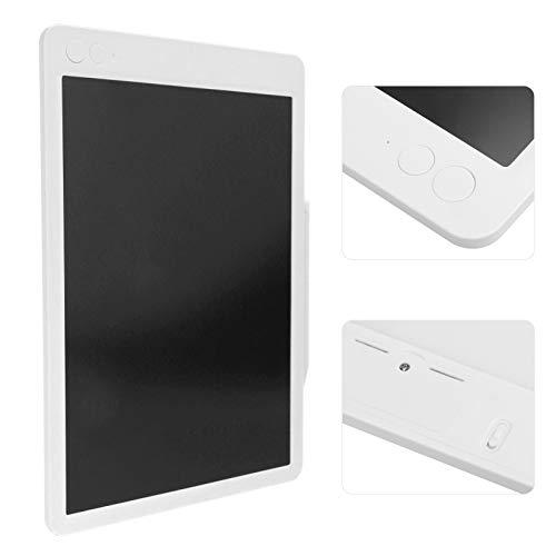 Tablero de Dibujo, Tableta de Escritura LCD, Cuerpo Ultrafino Flexible de 7 mm Delgado para niños niños(White Monochrome Font)