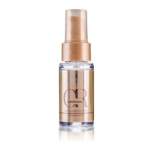 Aceite para cabello Wella Professionals Oil Reflections Luminous Smoothening para cabello fuerte y brillante, 1 unidad (30 ml)