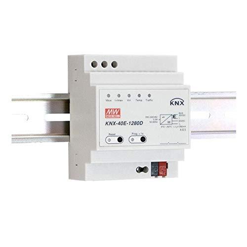 WITTKOWARE KNX-40E-1280D Hutschienen-Netzteil, 30V, 1,28A, 38,4W, Diagnosefunktion
