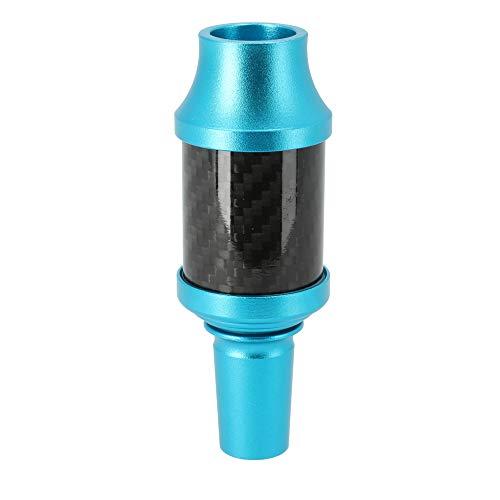 AO® Carbon Recoge colector de melaza cachimba | En Fibra de Carbono | Empalme en Aluminio Cut 18.8 = ningún Junto Necesario (Celeste)