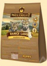 Warnicks Tierfutterservice Wolfsblut Range Lamb Puppy für Welpen mit Lamm und Reis SPARPACK 2x2Kg