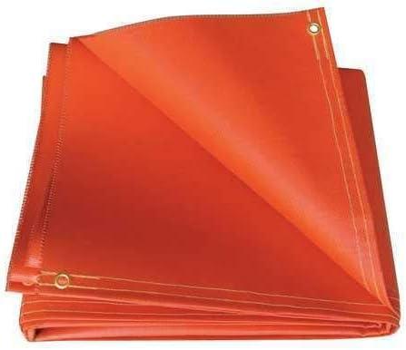 Welding Curtain 10 Ft. W 2021 new shop 12 Ft Orange O51-10X12-20-B