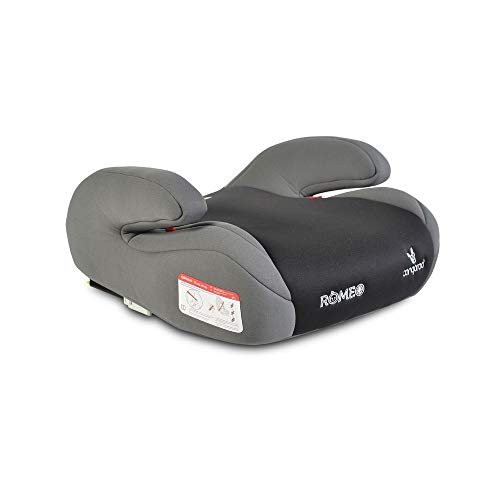 Cangaroo Kinderstoel Romeo Boosterstoel ISOFIX Group 3 (22-36 kg) armleuning Grijs