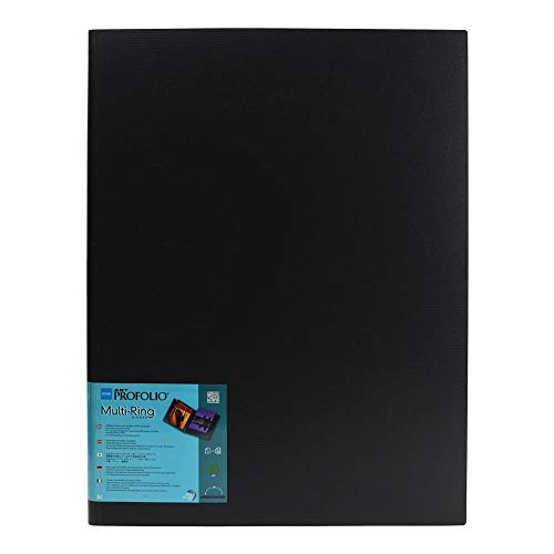 ProFolio by Itoya, ProFolio Multi-Ring Refillable Binder - A2 Size, 16.5 x 23.4 Inches
