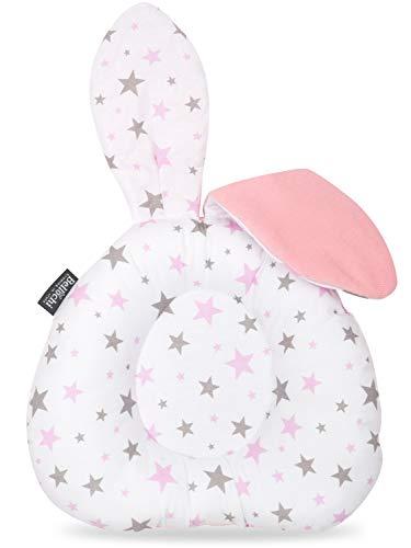 Bellochi - Baby Kissen Kopfverformung, Gegen Plattkopf - 3 in 1 Komfortabel Ergonomisches Babykissen für Kinder mit Plattkopf - Star Way