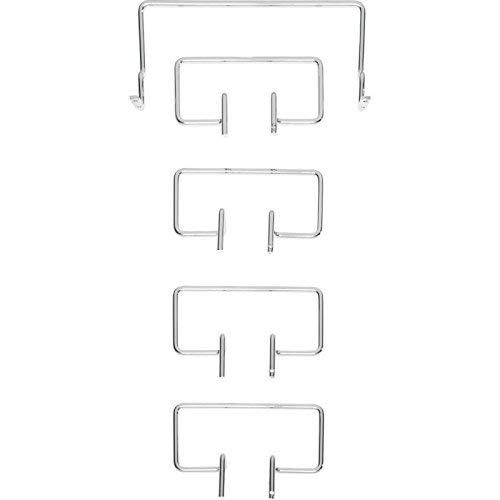 Tempur Matratzenhalter Satz C für freistehende Systemrahmen, Metall, Chrom, One Size