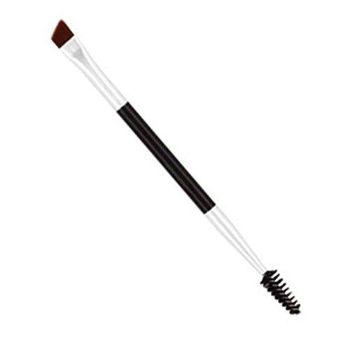Lorjoy Bambou Brosses à Double tête Poignée Pro Cils Sourcils Pinceau cosmétique de Maquillage Outil de beauté