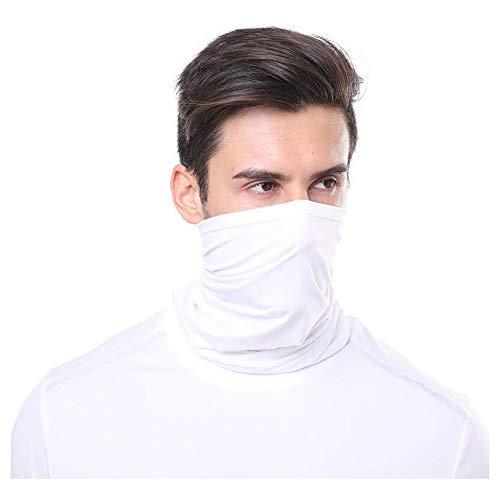 outletissimo® - Pañuelo blanco para debajo del casco, fashion moda moto softair...